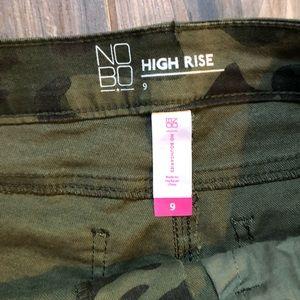 No Boundaries Shorts - NOBO | NWOT High Waist Camo Shorts